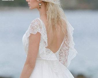 Wedding Headpiece Weddings Bridal Headpiece Hair Jewelry Pearl Headpiece Headdress Beach Wedding Boho Wedding - Pearl Luster Mrk 11 - Gold