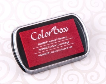 Colorbox Acid Free Pigment Ink Pad (Full Size) - Cranberry