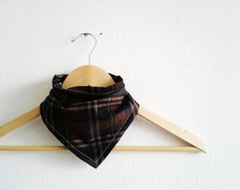 Little Lumberjack Plaid Baby Bibdana, Baby Shower Gift