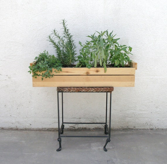 Cedar Wood Planter Garden Box Garden Planters Herb Garden