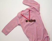 the original Camouflage Duck Call Hunting Long Sleeve One Piece Pink Girl