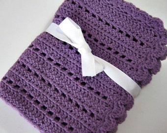 Baby Blanket Pattern for Beginners Crochet PDF PATTERN Instant Download Tutorial