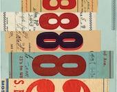 Signals: no. 3, limited edition print 420 x 594mm