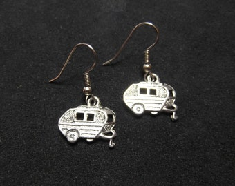Trailer Park Romance Earrings - Retro, Pinup, Fun