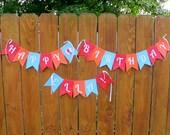 ELMO Birthday Banner, Elmo's World, Elmo Party