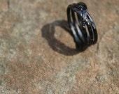 Copper - Closed Spiral Ring