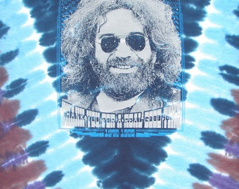 Jerry Garcia tye-dye lot shirt - Grateful Dead, Furthur, hippie, Phish, DSO, SCI, Dead and Company, Fare Thee Well