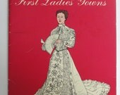 Smithsonian Coloring Book of 29  First Ladies Gowns 1983 copyright Never Used Bought in Washington DC