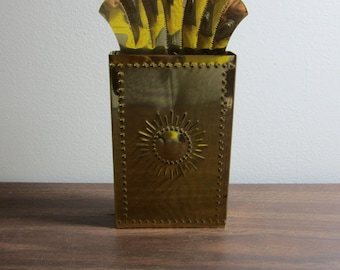 Vintage Fireplace Match Holder PRICE REDUCED
