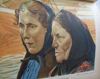 1936  Sverige  I Farg Och Bild Book