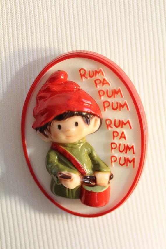 Vintage Little Drummer Boy Pin
