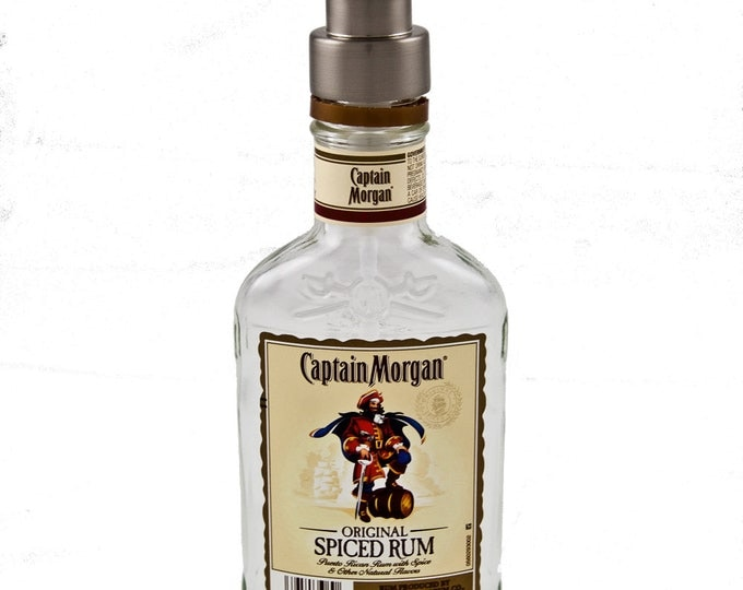 Captain Morgan Soap, Sanitizer or Lotion Dispenser