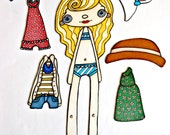 ELLA Magnetic Paper Doll Set