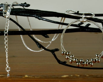 Floating Melody - Guitar String Necklace