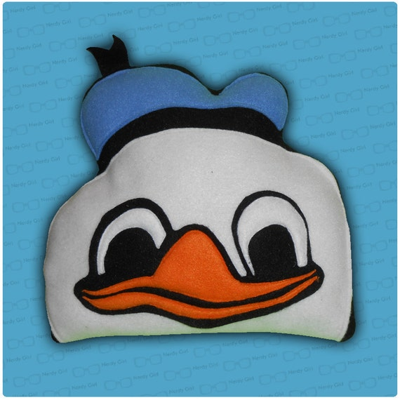 Dolan Duck meme Pillow - Made-To-Order