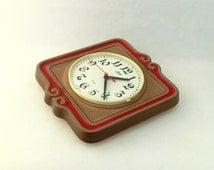 Unique Ceramic Clock Related Items Etsy