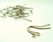 10 pairs Earwires Fish Hooks Antique Bronze