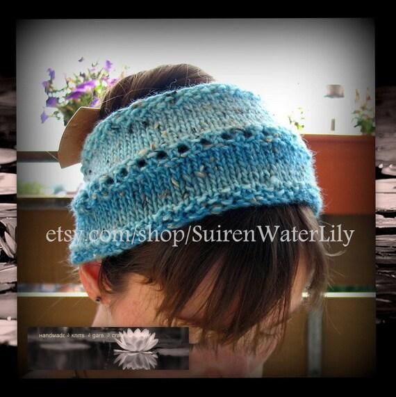 Calorimetry headband Caribbean Blue