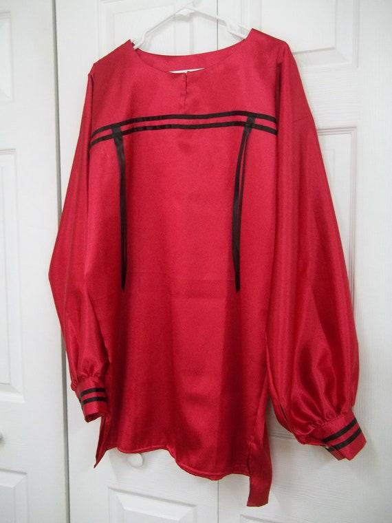Custom order for  JP Hogan,Men's XL ribbon shirt, native american