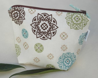 Zipper Cosmetic Bag/Pouch, Bridesmaid Gift
