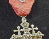 Silver Jerusalem Cross Medal