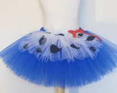Adult Tutu Jessie Inspired Tutu Skirt Royal Blue Teen Cowgirl Halloween Costume Marathon by American Blossoms