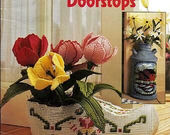 Decorative Doorstops Plastic Canvas Pattern Book  Annie Attic 87R12