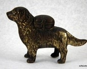 St. Bernard Cast Metal Coin Bank - Early 1900s Antique with Lots of Original Paint Left