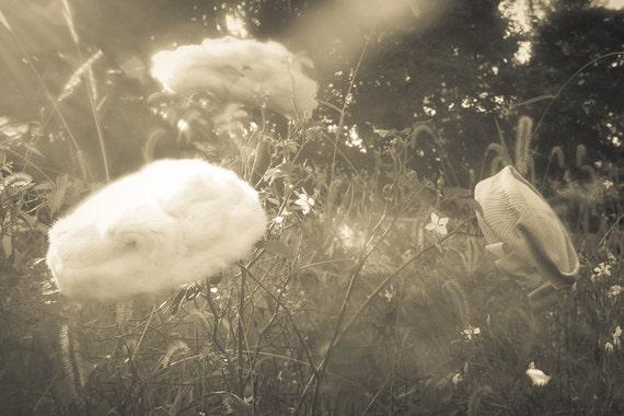White Fur  Hat - Marion Nixon