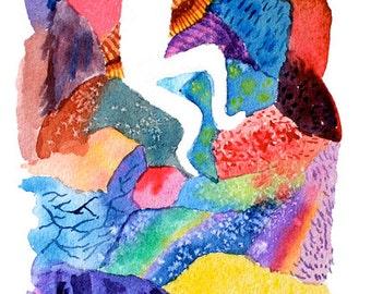 The Climb Print