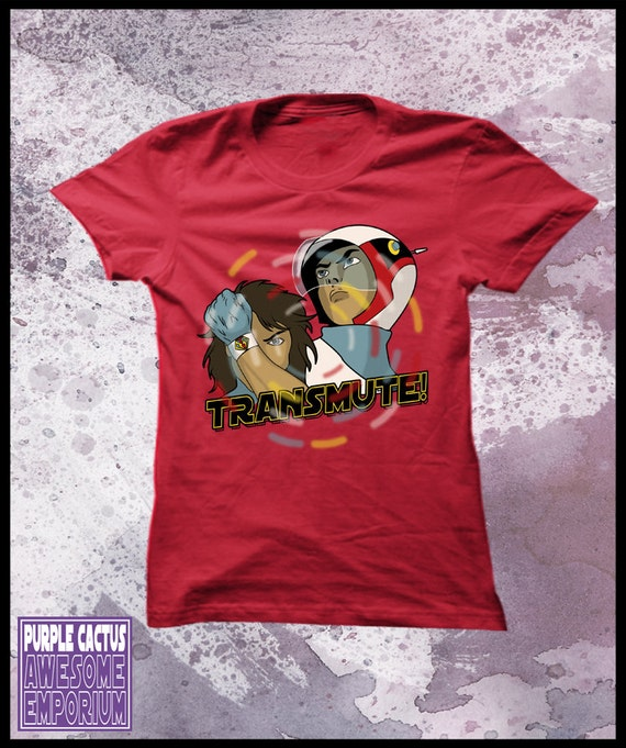Gatchaman transmute tshirt womens - Battle of the planets