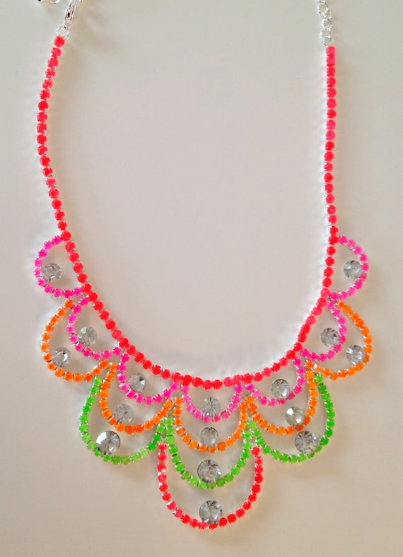I Want Candy Neon Necklace