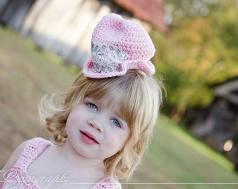 Pink Mini Cowboy Hat Country Western Wedding Hat For Baby Girl Newborn Toddler Child Hair Accessory