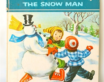 70's Vintage Frosty the Snowman Book