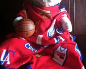 20% Off Sale!  Los Angeles Clippers Basketball Fleece Sports Baby Blanket