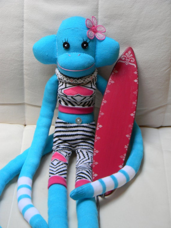 Sock Monkeys custom personalized OOAK and Limited  Editions
