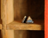 Blueberry Cobbler (Beautifully handcrafted ceramic post earrings)