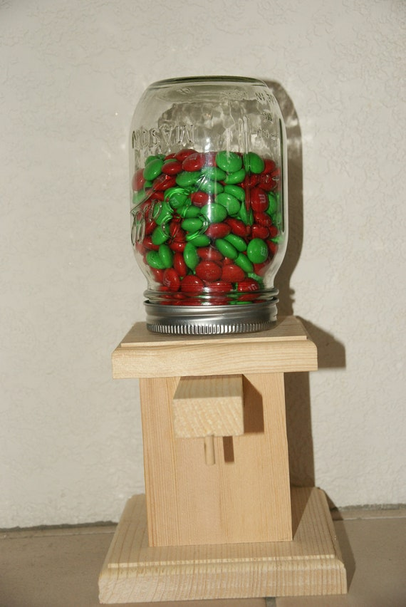 Items similar to Wooden Candy Dispenser Kit on Etsy