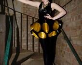 Torture Garden Double Bugle Latex Dress