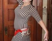 Striped Bellydance Dress