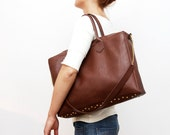 TRAVELER 2/ Convertible leather duffle bag - DDSLLGirlsStore