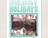 25 Holiday Photo Cards - Personalized Christmas Cards - Custom Holiday Cards - Photo Greeting Card - envelopes included