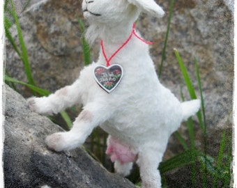 "PDF Instant Download - Pattern / E-Book Goat "" SCHWANLI "" :) - 5 Inch - by Eileen Seifert - Teddy-Manufaktur.de"