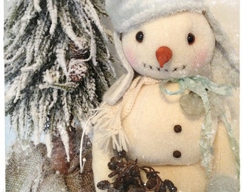 "PDF Instant Download - Pattern / E-Book Snowman "" MR. WILSON "" :) - 16 Inch - by Eileen Seifert - Teddy-Manufaktur.de"
