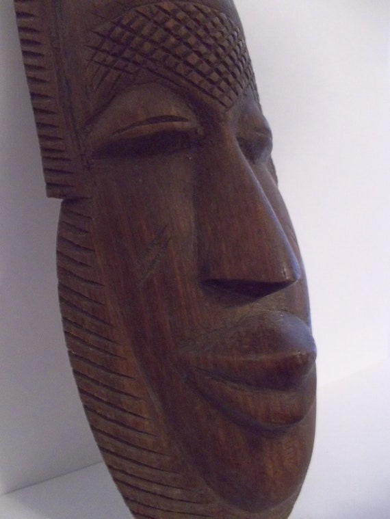 Items similar to mid century s african carved wood