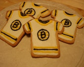 Reserved order for nephreteri Bruins Hockey Jersey Sugar Cookies
