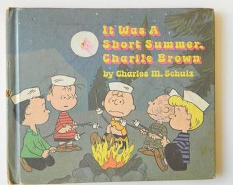 Vintage Peanuts - It was a Short Summer, Charlie Brown - Charles Schulz - 1970
