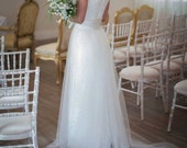 Coco - Beaded Lace Tulle Wedding Dress