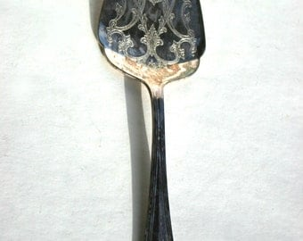 Vintage Wedding Cake Server Gorham Heritage made in Italy for Birthday Anniversary Birthday Formal Dinners Gorgeous Patina