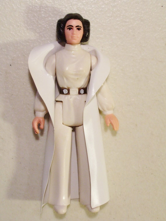 Vintage 1977 Star Wars Princess Leia Action by Funllectibles Old Star Wars Princess Leia